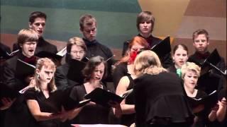 Sven-David Sandström: Ave Maria - Kammerchor der Hochschule für Musik Detmold , Germany