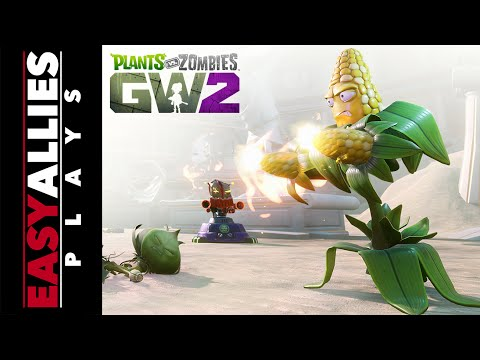 Huber Plays PvZ: Garden Warfare 2 - Eating Plants and Growing Zombies