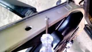видео Замена подушки двигателя lada 21055 (ваз 21055)