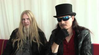 Nightwish interview - Tuomas Holopainen and Marco Hietala (part 2)