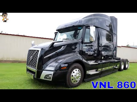 2020 Volvo VNL 860 Walk Through Tour