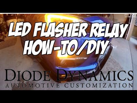 Diode Dynamics Led Flasher Relay Diy 2015 2016 Subaru