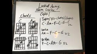 Video Locked Away Adam Levine Easy Guitar Tutorial Lesson! download MP3, 3GP, MP4, WEBM, AVI, FLV Februari 2018