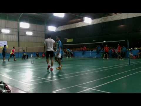 Final beregu putra Bank Mandiri Porseni 2016 reg.1 vs reg.7
