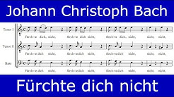 Johann Christoph Bach - Fürchte dich nicht (motet for 5 voices)
