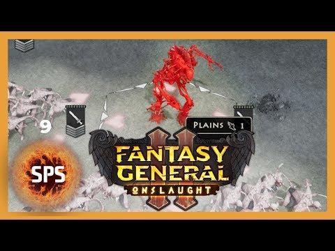 Fantasy General II Onslaught - BLOOD DEMON - Let's Play Series Ep. 9 |