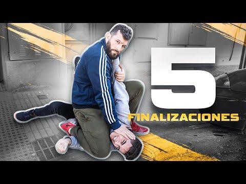 5 DEFENSAS en la CALLE que NECESITAS SABER | KRAV MAGA!!!