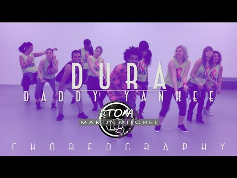 Dura - Daddy Yankee   Martin Mitchel (Choreography)  Zumba