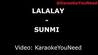 [Karaoke] LALALAY - SUNMI
