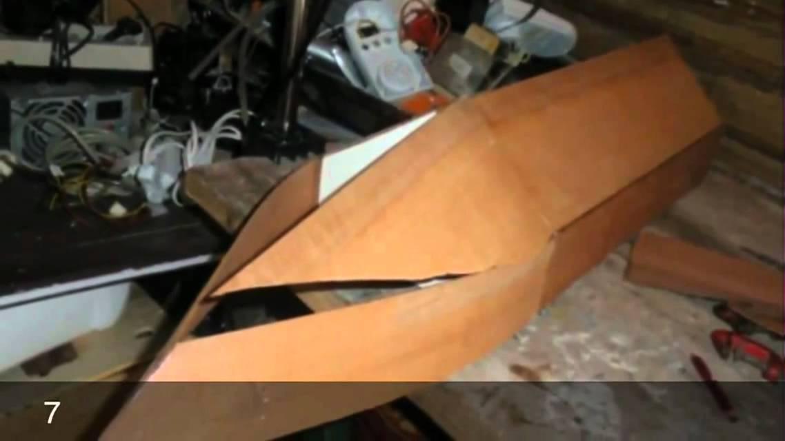 Fabriquer une maquette de bateau youtube - Fabriquer une treille en bois ...