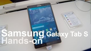 Hands-on: Samsung Galaxy Tab S 8.4 and 10.5 Thumbnail