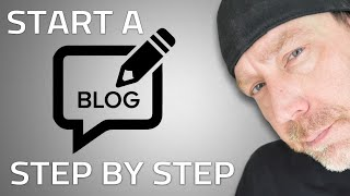 How To Start A Blog - Step By Step Blogging For Beginners