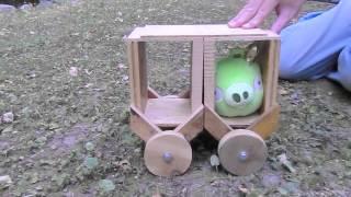 Bad Piggies Cart irl!