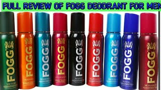 full review of fogg body spray deodrant for men with Ansh Parmar