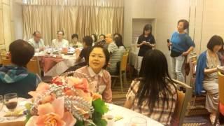 福建中學25屆同學會三十八週年聚會聯歡才藝表演。