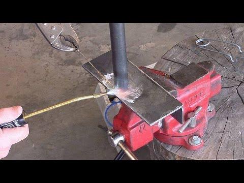 Make a tool rest - part 6 -  Brazing