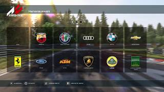 Assetto Corsa all cars with all dlc