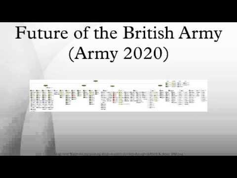 Future of the British Army (Army 2020) - YouTube