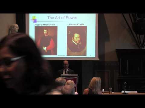 """Machiavelli in the Caribbean and the Art of Power"" - Professor Ramon Saldivar"