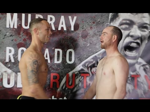 STEVE BROGAN v HENRY JANES - OFFICIAL WEIGH-IN VIDEO FROM LIVERPOOL / BEAUTIFUL BRUTALITY