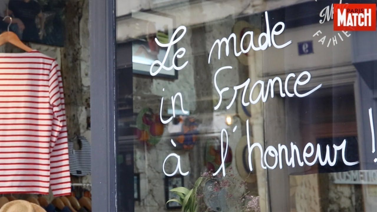 le 100 % made in france a sa rue à paris - youtube