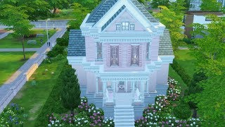 Sims 4 // PEACHY AF VICTORIAN // Speed Build (1)