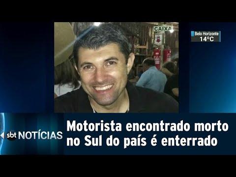 Motorista de aplicativo encontrado morto é enterrado no Sul do país | SBT Notícias (24/07/18)