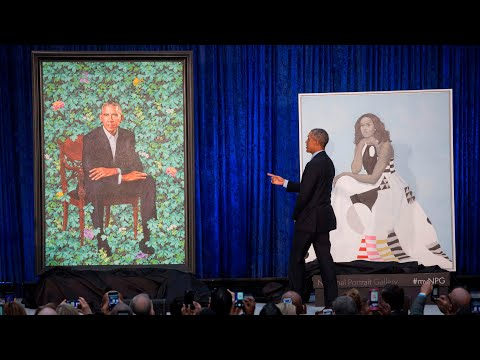 Barack Obama thanks portrait artist for capturing Michelle's 'hotness'