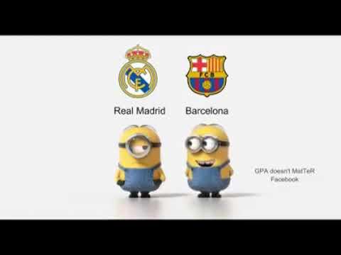 Real Madrid Vs Barcelona Teasing Funny Video Clip For