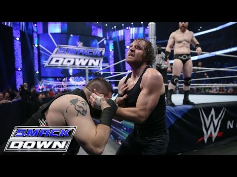 Roman Reigns & Dean Ambrose Vs. Sheamus & Kevin Owens: SmackDown – 31. Dezember 2015