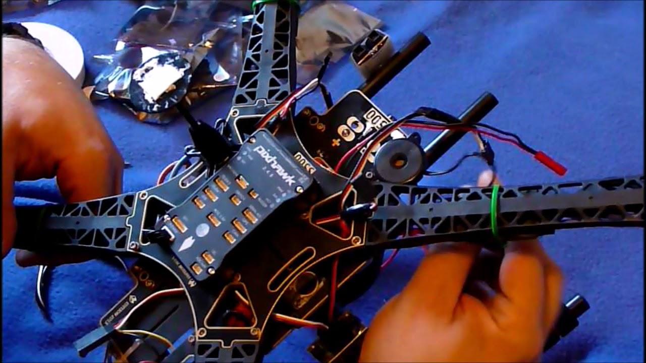 Pixhawk 2 4 8 - PX4 FMU de 32 bits, montada en dron S500