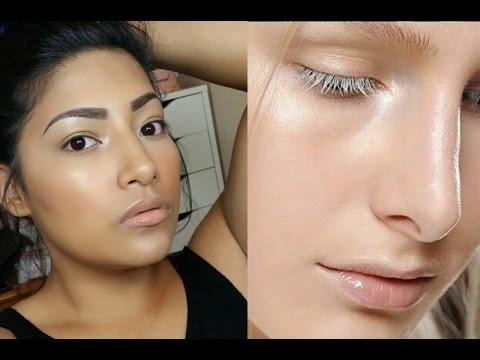 HOW TO: Strobing Full Makeup Tutorial ( Glowy Skin ) - Alexisjayda thumbnail