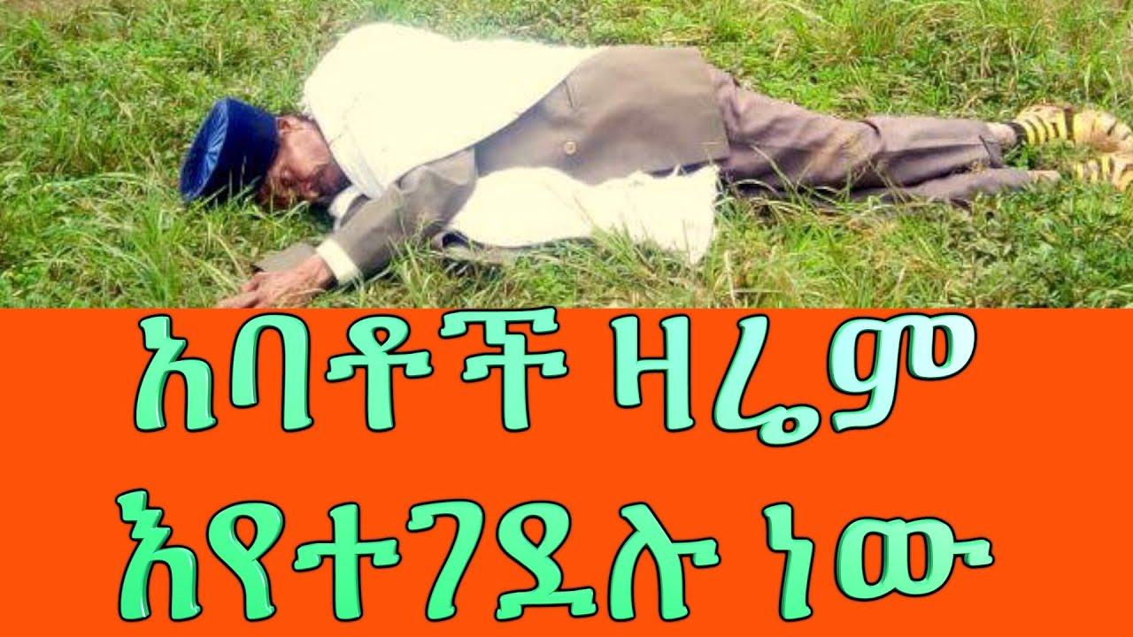 Ethiopia | ቤተክርስቲያን ዛሬም እተቃጠለች ነው አባቶችም እየተገደሉ ነው