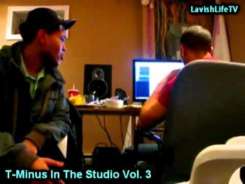 T-Minus x The Weeknd - studio 2008 pt 2