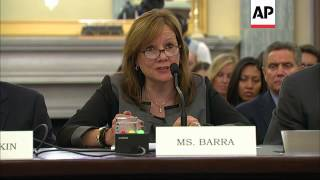 General Motors CEO Mary Barra defends her legal staff at a congressional hearing for their poor resp