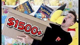 $1500+ VINTAGE POKEMON ITEMS Mystery Box