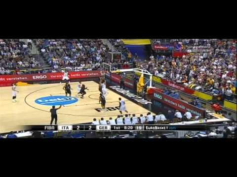 2015 Eurobasket Italy vs Germany Preliminary Round
