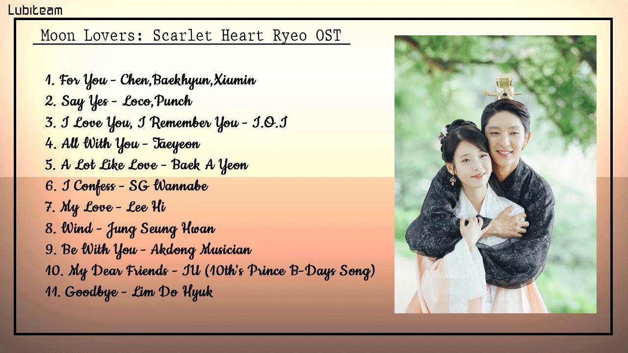 [Full Album] Moon Lovers: Scarlet Heart Ryeo OST    Nhạc Phim Người Tình Ánh Trăng