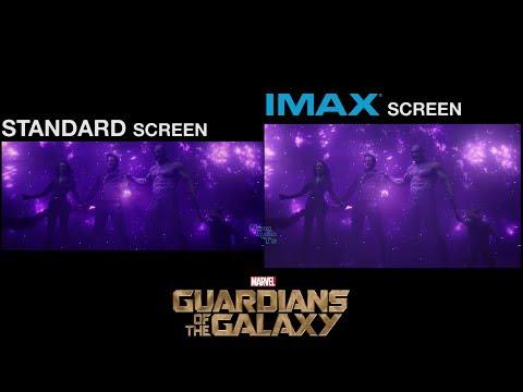Guardians of the Galaxy (2014) | Final Battle Scene | Standard vs IMAX comparison