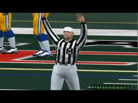 NFL 2000 Super Bowl XXXIV - St. Louis Rams vs Tennessee Titans - Final Seconds - ESPN NFL 2K5 - HD