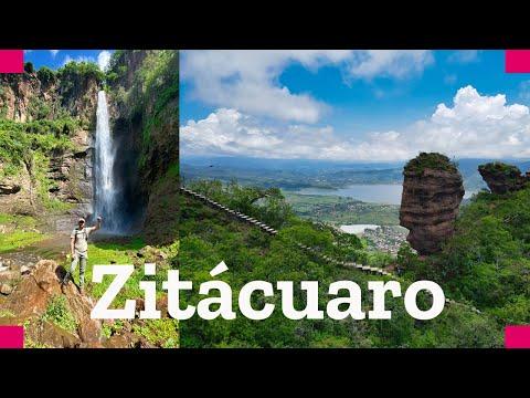 Recorrido por Zitácuaro Michoacán, Cascada el Salto de Enandio y La Coyota
