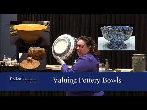 Secrets To Value Antique Ceramic Pottery Bowls By Dr. Lori