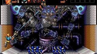 Contra: Hard Corps (Sega Mega Drive/Genesis) - Stages 1-3
