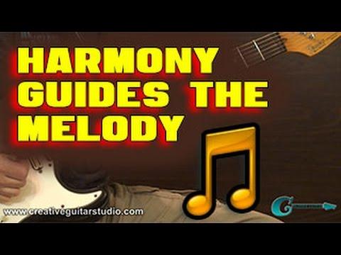IMPROVISATION: Harmony Guides the Melody