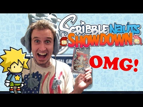 THEY SENT ME SCRIBBLENAUTS SHOWDOWN!!! [Unbox & Introduction/Creating Character]