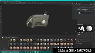 3D Talkboy timelapse - Maya x Substance Painter by Ali Vee