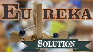 Repeat youtube video Solution for Eureka from Puzzle Master Wood Puzzles