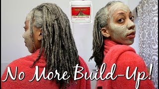 DIY CLAY HAIR MASK FOR BUILDUP ON LOCS | My Entire Experience