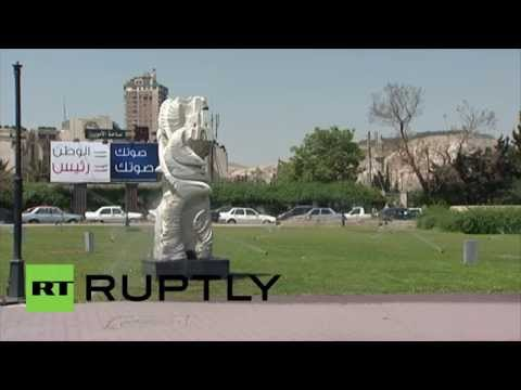 Syria: Election campaigns kick off as posters adorn Damascus' roads