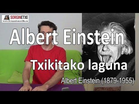 Albert Einstein, txikitako laguna - Fernando Morillo Grande (Sorginetxe istorioak)